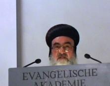 Erzbischof Timotheos bei seinem Grusswort