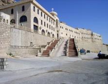 Bild 32: Kloster Mar Mattai (344 n.Chr.) - eines der ältesten Klöster der Christenheit