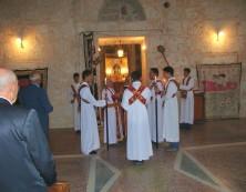 Gottesdienst in der Klosterkirche von Mor Gabriel