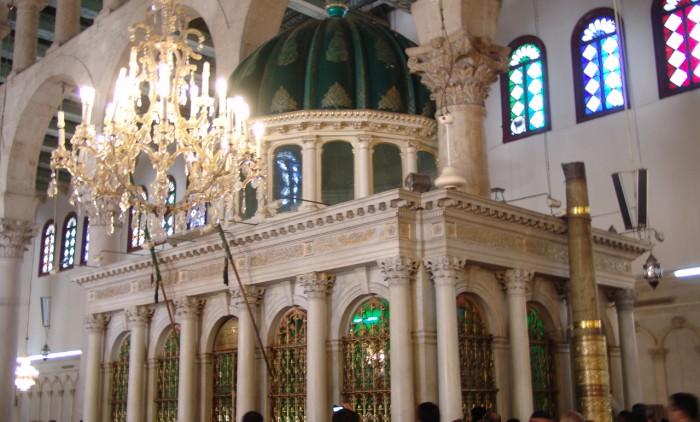 9. Damaskus Ummayaden Moschee Schrein des Johannes