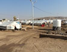Flüchtlingscamp in Khatab