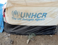 Das Camp Domiz wird  von den Vereinten Nationen (UN) unterstützt